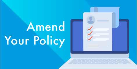 Change your policy details
