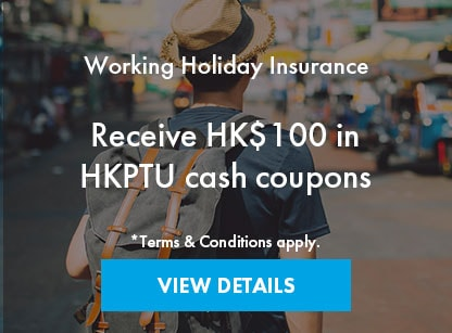 Working Holiday Insurance Offer